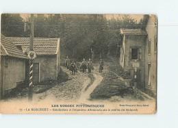 La SCHLUCHT - Gendarmes Et Douaniers Allemands Sur Le Sentier Du Hohneck  - Frontières - Douanes -  2 Scans - Douane