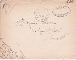 """Lettre FM CHASSEUR DEPOT 511 RCC Obl """" PANASSAC GERS 9/7/40 """" AVEC CORRESPONDANCE - AGENCE POSTALE - WW2 - Guerre Mondiale (Seconde)"""