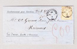 Heimat Schweiz JU PORRENTRUY 28.5.1958 Brief Nach Noirmont Mit 20Rp Strubel - Lettres & Documents