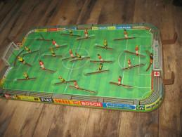 TECHNOFIX - Football - Jeu, Jouet En Tôle  Etat, Voir Descriptif Et Les 6 Photos. - Jouets Anciens