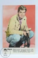 Vintage Cinema Movie Actor Postcard: Troy Donahue - Acteurs