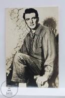 Vintage Real Photograph Postcard Movie Actor: Rock Hudson - Acteurs