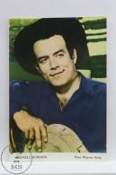 Vintage Cinema Movie Actor Postcard: Pernell Roberts - Acteurs