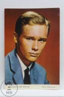 Vintage Cinema Movie Actor Postcard: Brandon De Wilde - Acteurs