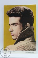 Vintage Cinema Movie Actor Postcard: Warren Beatty - Acteurs