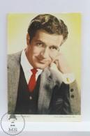 Vintage Cinema Movie Actor Postcard: Hugh O'Brian - Acteurs