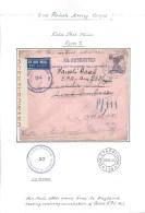 1942. POLISH FORCES IN IRAQ  FIELD  POST  OFFICE 114 . CENSOR  No.55. - Sin Clasificación