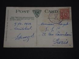 PANAMA - Oblitération De L ' Agence Postale De Colon En 1926 Sur Carte Postale Pour Paris - A Voir - L 1265 - Panama