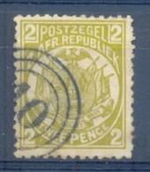 Transvaal 1885. 2d Olive-bistre 10 = M.W.Stroom Postmark. SACC 181, SG 178. - Transvaal (1870-1909)