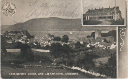 AK Greenore An Grianfort Carlingford Lough London North Western Railway Company L & N W Hotel Louth Leinster Ireland - Louth