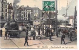 DIEPPE - Départ Du Rapide Pour Paris - TRAIN - Dieppe