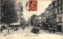 Carte Postale Ancienne De ROUEN - Rouen