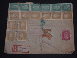 ALLEMAGNE - Enveloppe En Recommandée De Duisburg Pour La France En 1931 - A Voir - L 1279