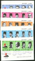 Egypt 2004 National Bar Association, 92nd Anniv Complete Set FDC - Briefe U. Dokumente