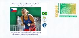 SPAIN, 2016 Summer Olympics, RIO, Tennis, Women´s Singles, BRONZE MEDAL : Petra Kvitova (Czech Republic) - Eté 2016: Rio De Janeiro