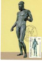 Carte-Maximum ITALIE N°Yvert 1508 / Bronze De Riace - Storia