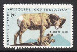 Bighorn Sheep Mnh Stamp - Farm