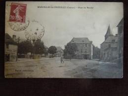 Marcillac-la-Croisille , Place Du Marché En L ' état * - France