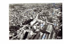 10 - TROYES - Aube - Vue Aerienne Sur Les Gares - S.N.C.F.  Routière - N°149-77 A Cim - 1962 - Train Chemin De Fer - Troyes
