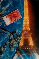CPM Carte Moderne Billet De Banque Tour Eiffel Tirage 100 Exemplaires Signés Non Circulé - Coins (pictures)