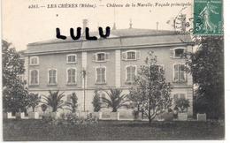DEPT 69 : Les Chères , Chateau De Marelle, Facade Principale - Autres Communes