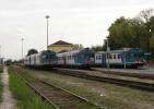 48 FS Ferrovie Treni ALn 668.3137 E 3206 Torrile San Polo (PR) Tpaívo Railroad Train Railways Zug Treno Chemin De Fer - Trains