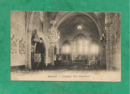 Roujan L'église Vue Intérieure 2 Scans 23/05/1924 (34-Hérault) - Altri Comuni