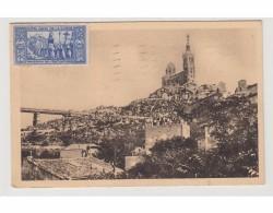 MARSEILLE - N D DE LA GARDE - FETES DU COURONEMENT 18-21 JUIN 1931 - LA FOULE SUR LA COLLINE - Monuments