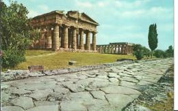 Paestum (Salerno, Campania) Tempio Nettuno E Basilica, Nettuno Temple And The Basilica, Nettuno Tempel Und Die Basilika - Salerno