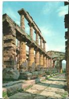 Paestum (Salerno, Campania) Tempio Nettuno Colonnato Della Cella, Nettuno Temple Colonnade Of The Cell - Salerno