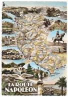 La ROUTE NAPOLEON : La Mure , Sisteron , Digne , Le Lautaret , Laffrey ,Grasse , ND De La Salette , Route Du Col De L´Is - France