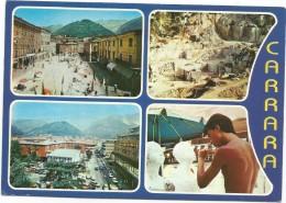 R2127 Carrara - Panorama Vedute Multipla / Viaggiata 1984 - Carrara