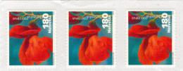 SVIZZERA 2012   3 X  COCCINEUS PHASEOLUS  FR. 1,80  MNH ** (CODICE BARRE SUL RETRO) - Nuovi