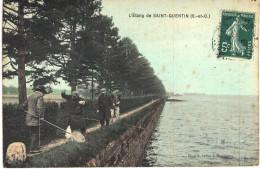 Carte Postale Ancienne De SAINT QUENTIN - St. Quentin En Yvelines