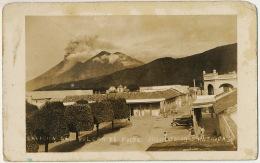 Real Photo Guatemala Antigua Eruption Del Fuego Volcano July 30 , 1945 - Guatemala