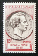 GERARD DE NERVAL 1955 - NEUF ** - YT 1043 - MI 1071 - Unused Stamps