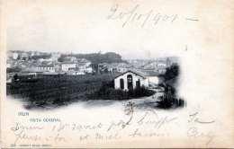 IRUN (Spanien) - Vista General, Karte Gel.1901, Abgelöste Marke - Spanien