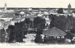 OUDJDA (Marokko, Maroe) - Vue Generale Vers Les Mosqueèes, 191? - Sonstige