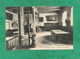 Crémieu Salle De La Mairie 2 Scans (38-Isère) Poêle à Charbon F. Vialatte, Phot. Oyonnax - Crémieu