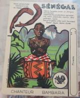 Marionnettes (?) à Monter – Phosphatine Fallières: Sénégal: Chanteur Bambara - Other Collections
