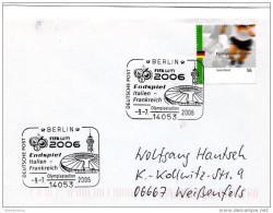 """21848 -  Enveloppe Allemande Avec Oblit Spéciale WM 2006 """"Endspiel Italien-Frankreich"""""""