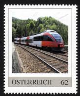 ÖSTERREICH 2013 ** Semmeringbahn, Eisenbahn, Train, Regionalzug Reihe 4023 - PM Personalized Stamp MNH - Trains