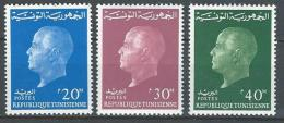 "Tunisie YT 569 à 571 "" Président Bourguiba "" 1962 Neuf** - Tunisia"