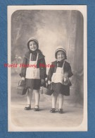 CPA Photo - Portrait De Petite Fille Déguisée Pour Le Bal De La Mi Careme 1928 Costume Folklore Mode Fashion Girl Enfant - Non Classés