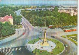 47309- PLOIESTI- SOUTH RAILWAY STATION SQUARE, PANORAMA, BUSS, CAR - Roumanie