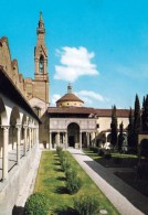 1 AK Italien * Kloster S. Croce Und Die Pazzi-Kapelle In Florenz * - Firenze (Florence)