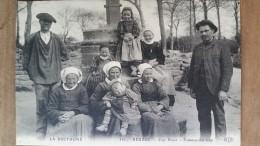Beuzec Cap Sizun.femmes Du Cap.coiffes Costumes. ELD N ° 351 - Beuzec-Cap-Sizun