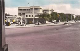 DJIBOUTI, Place Lagarde, Station Essence Shell, Carte Couleur, Glacée - Djibouti