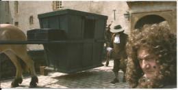 CPM 2006 Film Vauban´vagabond Du Roi´ (Louis XIV) Chaise Attelage, Acteur Bernard-P Donnadieu, Chateau De Bazoches (58) - Schauspieler