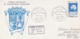TAAF 1981 Antarctic Treaty 1v FDC  Dumont D´Urville (F5573) - FDC
